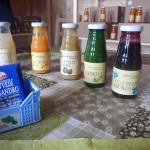 I succhi di frutta biologici dell'Azienda Agricola Provvedi Alessandro