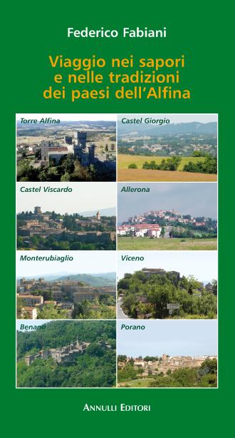 Viaggio nei sapori e nelle tradizioni dei paesi dell'Alfina_copertina