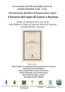 I Farnese @ Farnese - locandina