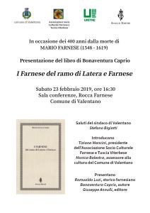 I Farnese_locandina-presentazione-Valentano
