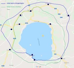 immagine bacino lago di Bolsena_con impianti noccioleti
