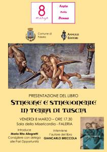 locandina Faleria_presentazione Streghe e stregonerie in terra di Tuscia