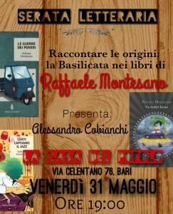 serata letteraria Raffaele Montesano_Bari
