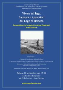 locandina-Vivere sul lago_Quattranni_Capodimonte_Cascina