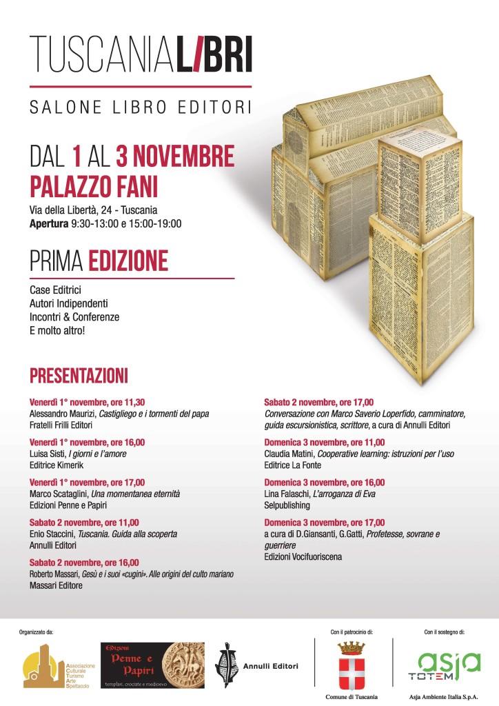 TuscaniaLibri - programma presentazioni