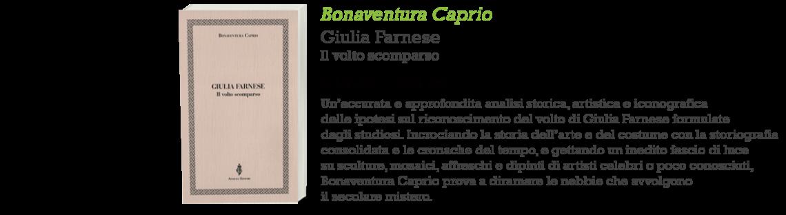 Giulia Farnese. Il volto scomparso_copertina e informazioni