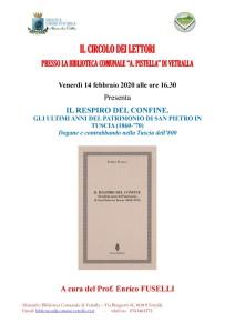 Locandina presentazione Vetralla