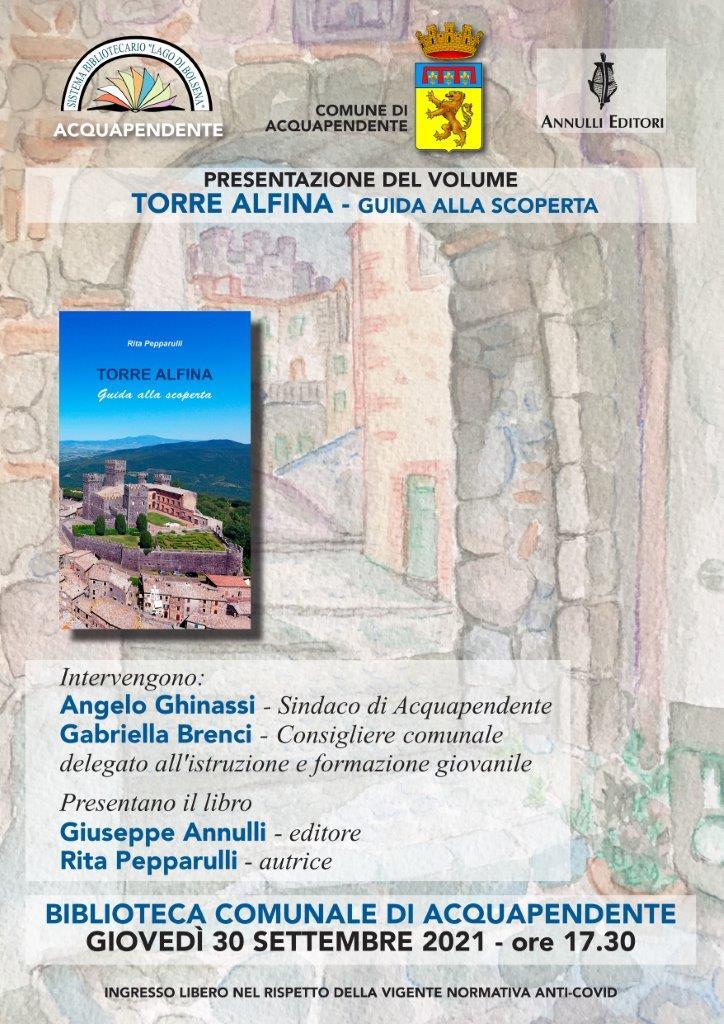 Locandina Torre Alfina_ presentazione ad Acquapendente